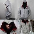 Мужская Осень Зима Assassin Creed Толстовка Толстовка Chadal Hombre Косплей Костюмы Прохладный Молнии Толстовки Мужские