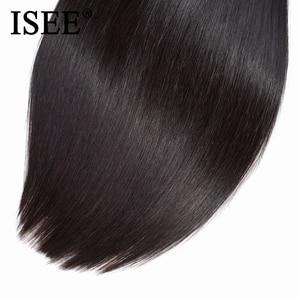 Image 5 - Peruvian Straight Hair Extensions Human Hair Bundles No Tangle Nature Color Can Buy 1/3/4 Bundles Remy ISEE Human Hair Bundles