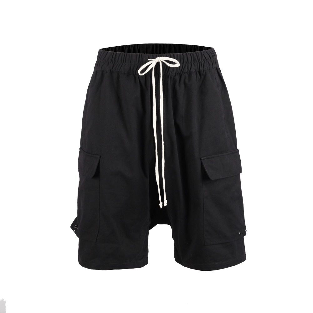 High Street 2019 Summer Mmulti Pocket Fashion Men High Quality Short Casual Cool Black Wear Hip Hop New Design Harajuku Shorts