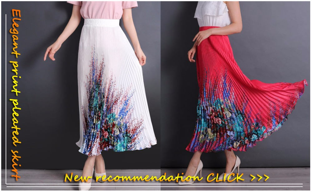 e0d144d6f07f SK71 Elegant Style Long Skirt Women Pastel Volume Candy Coloured Pleated  Chiffon Maxi Skirts in floor 80,90,100cm length