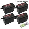 NP F960 NP F970 NP F960 NP F980 NP F980 NP F970 F960 Batterien Led betriebsanzeige für SONY HVR HD1000E HVR V1J NP F960 f770|Digitale Batterien|Verbraucherelektronik -