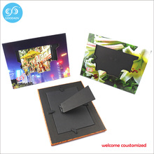 Personalized design exquisite beautiful wedding picture frame custom printed paper photo frame
