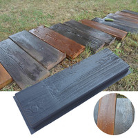 DIY 3D path mould DIY Plastic Mold wood grain brick concrete foot stone mold for garden paving