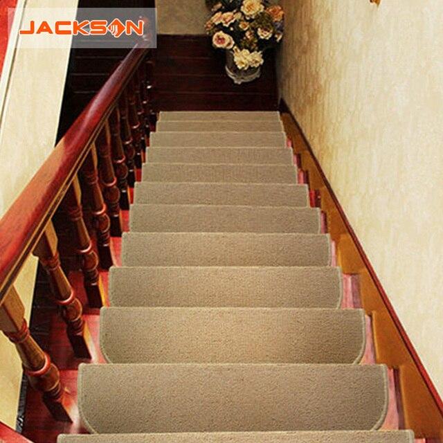 2016 Brand 4 Pieces Stair Carpet Sets European Style Luxury Slip Resistance  Stair Tread Mats