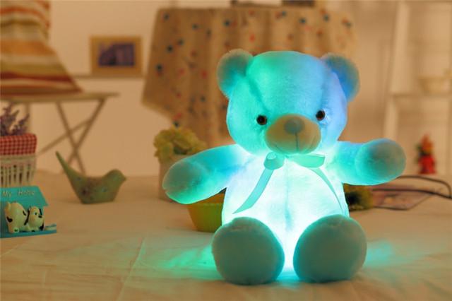 Kawaii Glowing Teddy Bear Luminous Plush Toys