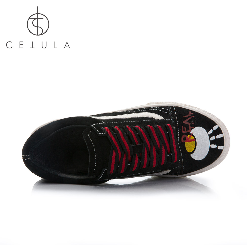 Cetula 2018 Handcrafted Black Suede Lace-up weibliche Slip-On - Damenschuhe - Foto 5