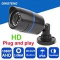 CCTV Camera CMOS AHD Camera  1080P Outdoor Waterproof 3.6mm Lens  2MP Bullet Security Camera Work For AHD DVR