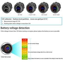 CARPRIE Voltage Meter Car Auto 1pcs 12V Waterproof Digital LED Elec Volt Gauge Boat dropship 19A9