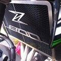 Двигатель мотоцикла радиатор шатона решетка решетки гвардия протектор крышки из нержавеющей стали для 2012 2013 2014 KAWASAKI Z800 12 13 14