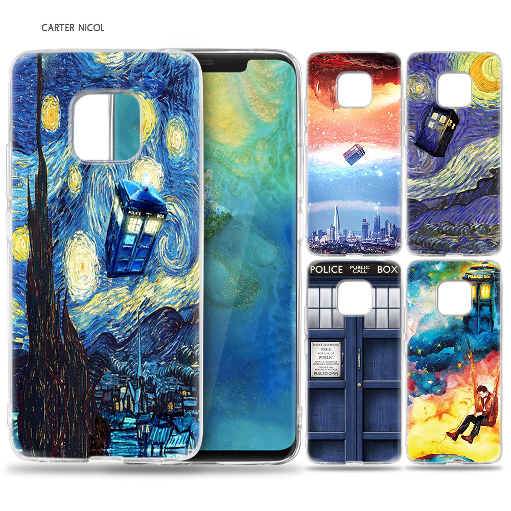 Cellphones & Telecommunications Dutiful Case For Huawei Mate 10 20 Pro P10 P20 P30 Honor 10 8x 8c 8a Lite P Smart Y6 Y7 2018 2019 V20 Tardis Box Doctor Who Rich And Magnificent