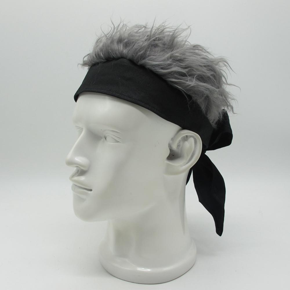 Wig Knitted Funny Crazy Viking Hat Long Beard Barbarian Beanie Ski Mask Caps