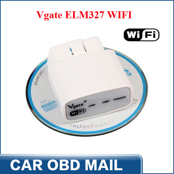 2014 free shipping vgate icar elm327 wifi obd ii elm 327. Black Bedroom Furniture Sets. Home Design Ideas