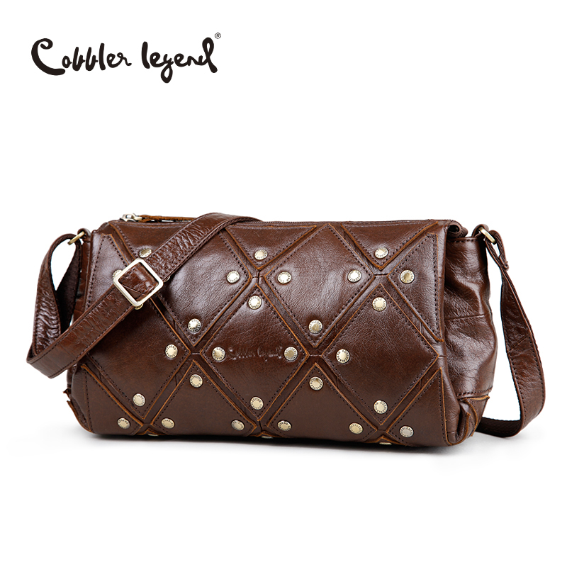Cobbler Legend Brand New Women's Shoulder Bags Genuine Leather Bag Female Crossbody Bags Bolsa For Ladies And Girls Handbag cobbler legend 2015 messenger 100