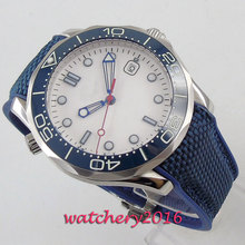 Men Watch 2019 BLIGER Men's Automatic Wristwatches Sapphire Glass Top Brand Luxury Reloj Sterile Dial Wrist Watches Calendar