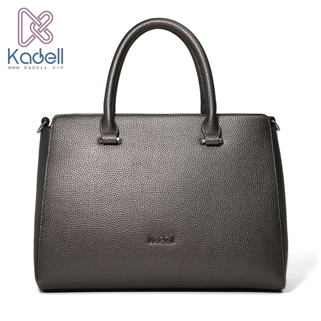 Kadell 2018 Famous Brands Womens Bag PU Leather Handbags Luxury Shoulder Bag High Quality Saffiano Handbag Ladies Tote Bags