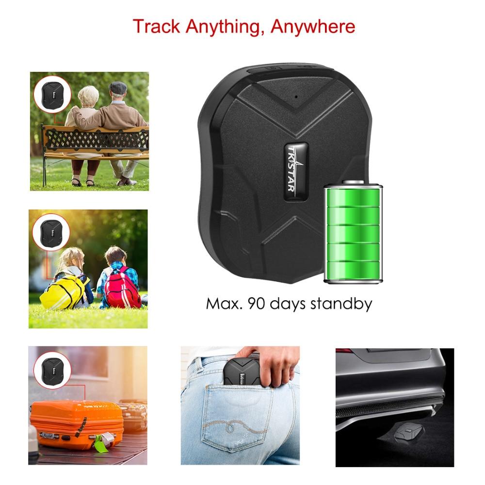 TK905 GPS localisateur étanche GPS véhicule Tracker 2G aimant moniteur vocal gratuit Web APP GPS Tracker voiture 90 jours veille Tkstar - 2