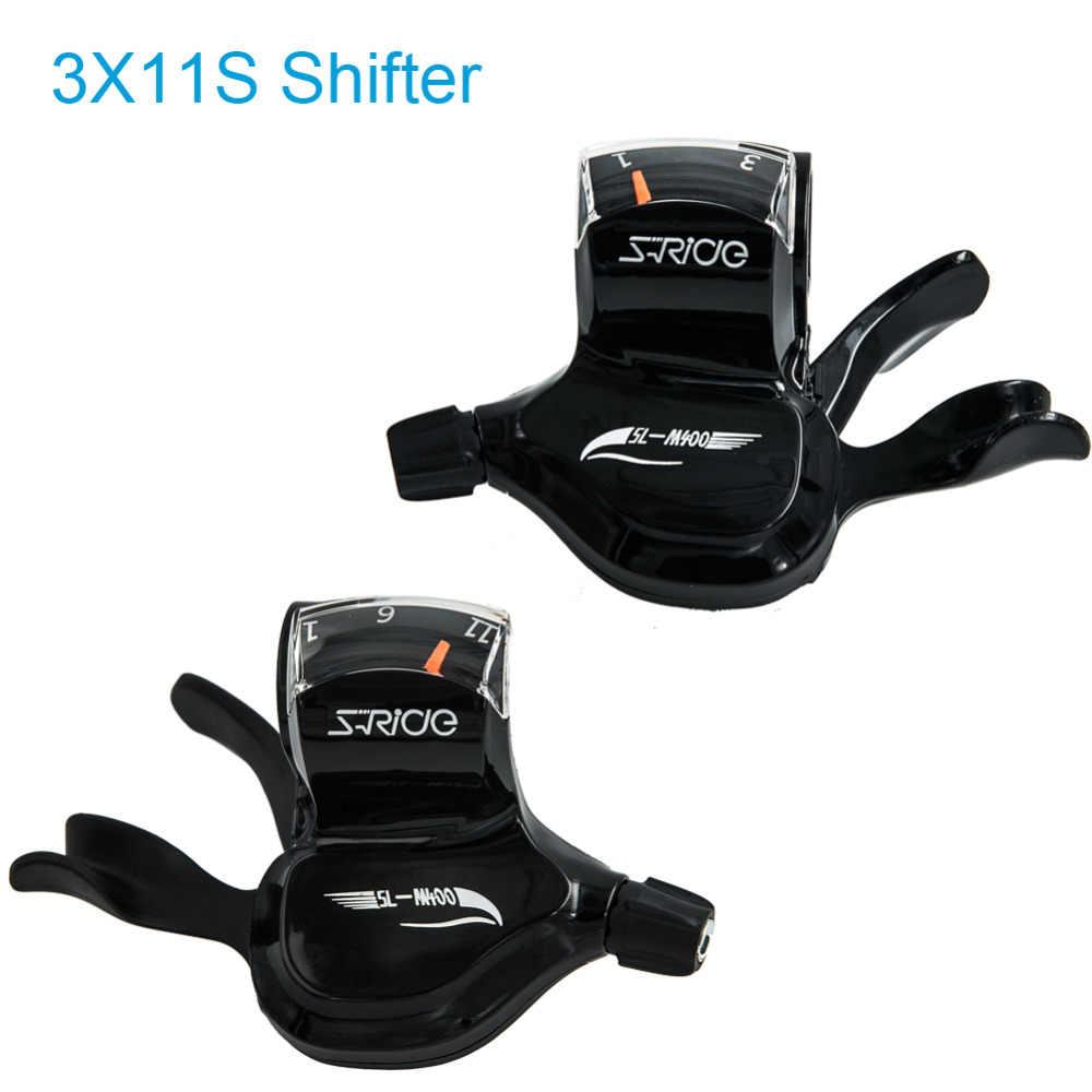 S Ride SL M400 Triple 3X10 скорость переключения соединенный DIP MTB переключатель 30 скоростей