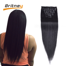 Brazilian Clip In Human Hair Extensions Soft Brazilian Human Hair Extensions Pretty Human Hair Clip In Extensions