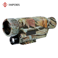 Camouflage 5 X 40 Infrared Night Vision Camera Waterproof Digital Telescope Video Output Night Vision Monocular