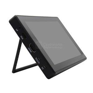 """Image 4 - Raspberry Pi 4 Model B/ 3B +/ 3B 7 cali 1024x600 IPS pojemnościowy ekran dotykowy 7 """"wyświetlacz monitora w/wspornik etui Menu OSD"""