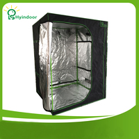 140 140 200 Indoor Hydroponics Grow Tent Greenhouse Reflective Mylar Non Toxic Room