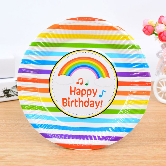 Cake Dishes Baby Children Birthday Party Paper Plates Disposable Dish Outdoor BBQ Supplies Baby Shower Decorations  sc 1 st  AliExpress.com & Cake Dishes Baby Children Birthday Party Paper Plates Disposable ...