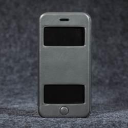 Чехол для телефона Apple iPhone 6/6S Роскошные Натуральная кожа супер тонкий профиль бумажник чехол телефон Обложка