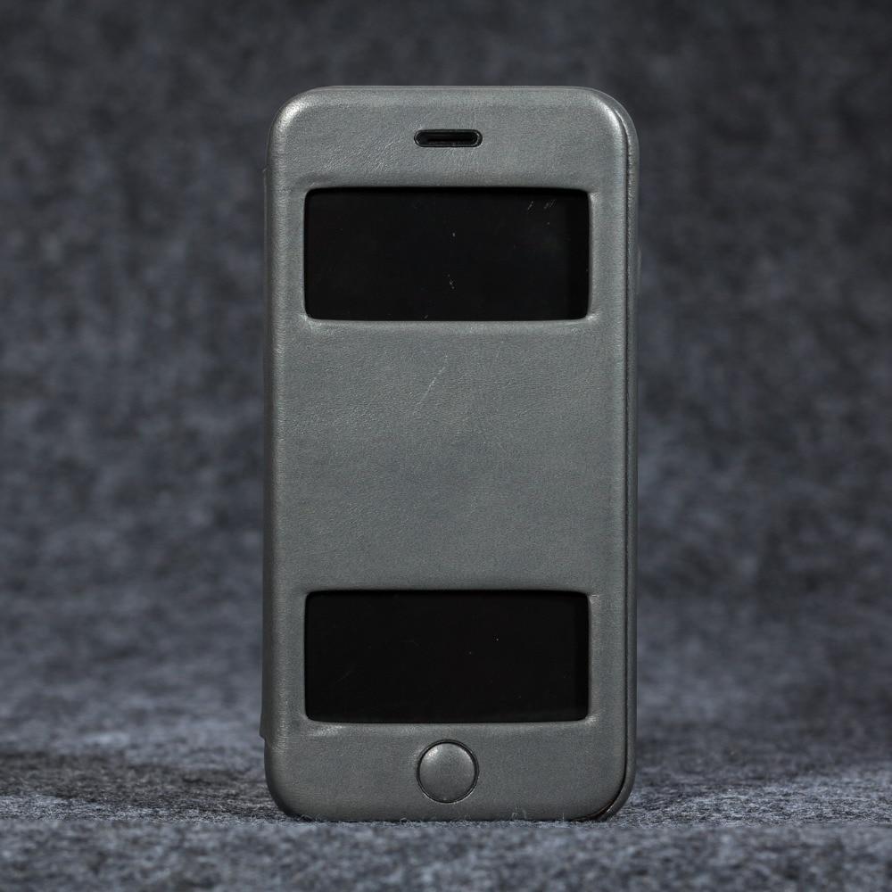 Telefon fall für Apple iphone 6/6 s Luxus Echtem leder super slim profil brieftasche fall abdeckung