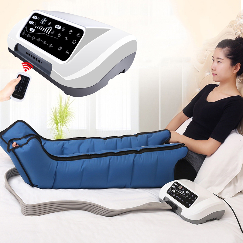 Air Compression Leg Foot Massager Vibration Infrared Therapy Arm Waist Pneumatic Air Wraps Relax Pain Relief