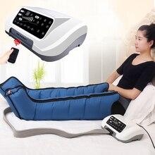 Hava sıkıştırma bacak ayak masajı titreşim kızılötesi terapi kol bel pnömatik hava sarar rahatlama ağrı kesici