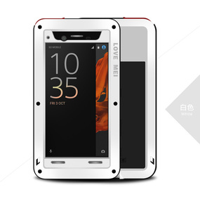Image 3 - Love Mei Armor Shockproof Case For Sony Xperia XZ Cover Metal Aluminum Waterproof Case For Sony Xperia XZ F8332 F8331 Cover Capa