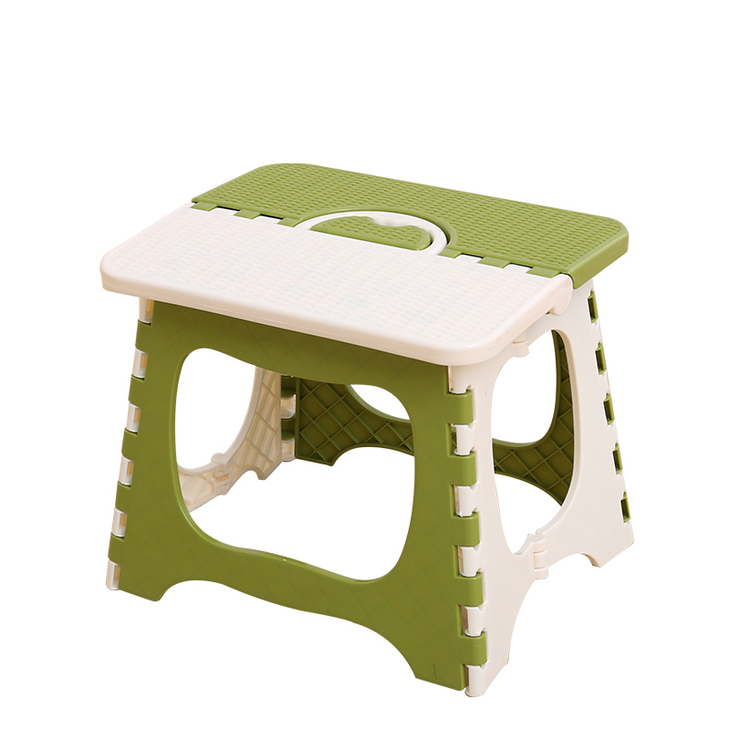 CAMMITEVER Random Color Portable Plastic Folding Stool Home Ottomans Outdoors Fishing Study Dinner Children Stool Kid Chairs