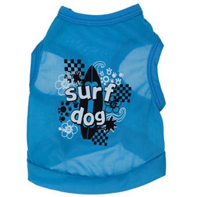 Poliéster azul surf chaleco