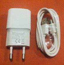 원래 빠른 2.0a 여행 충전기 eu 플러그 어댑터 + usb 케이블 oukitel k6000 프로 무료 배송
