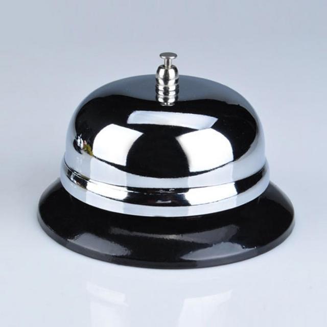 Restaurant Hotel Kitchen Service Steel Bell Ring Reception Desk Call Ringer  Kitchen Timer