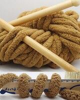 1KG Colorful Dye Scarf Hand knitted Yarn For Hand knitting Soft Milk Cotton Yarn Thick Wool Yarn Giant wool blanket
