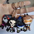 50pcs 2016 Tracer Reaper key chains  Key Ring Holder Animation Game  Keychain K00019