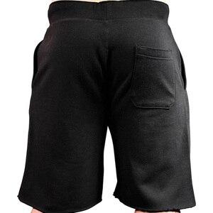 Image 5 - 2019 nuovi uomini palestre Fitness pantaloncini larghi Bodybuilding pantaloni sportivi estivi di alta qualità pantaloni sportivi da uomo casual da spiaggia di marca
