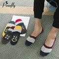 Summer Носки Мужчина Невидимый носки тапочки Asakuchi Все Матч нескользящей Пот Орфографии Цвет Мужские Носки