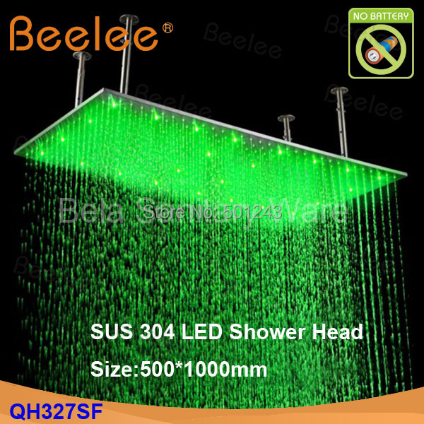 Perfect Free Shipping+Contemporary 20*40 Inch Big Rain 304 Stainless Steel Shower  Head With