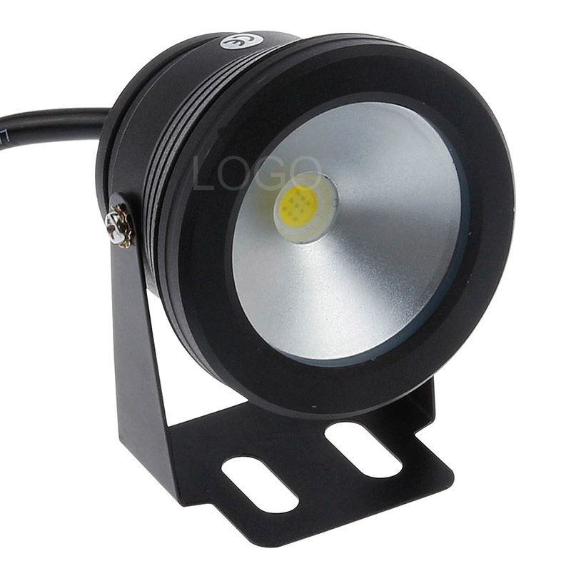Precise Outdoor 12v Underwater Lights Red Green Blue Waterproof Ip68 Led Pool Lights Underwater Flat Lens With 12v 10w Led Power Supply Led Underwater Lights