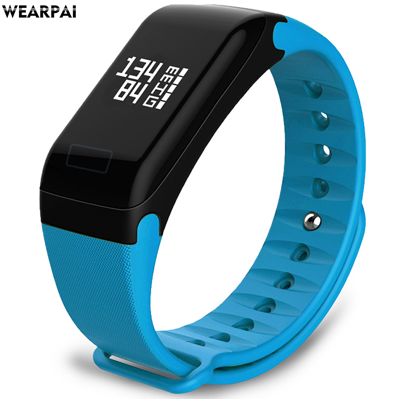 wearpai F1 Blood Pressure Heart Rate Monitor Blood Oxygen Fitness Tracker