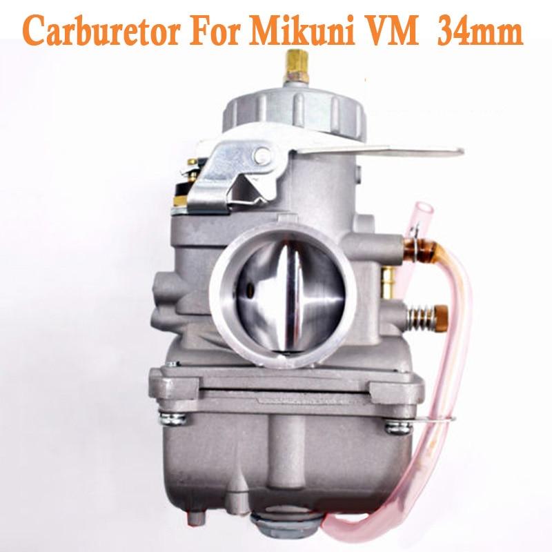 Nouveau Carburateur Carb Convient Pour Mikuni VM 34mm Glissière Ronde VM34-168 42-6015 VM34SC Voiture Accessoires de Remplacement