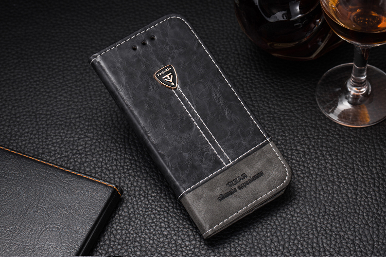 VIJIAR 5.8'For Samsung S10e case Two-Color high-end leather S10 lite phone back cover 5.8'For Samsung Galaxy S10e case