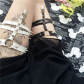 Sexy Harajuku Women Garters Belts 2015 Harness Stocking Sex Bondage Garters  Plug Size as a Gifts for Women