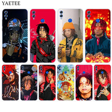Silicone Hull Case For Huawei Y7 Y6 Y5 Prime Pro Y9 2019 2018 Honor 8X 8C Play 9 10 lite View 20 V20 Cover Hip hop artist Trippi(China)