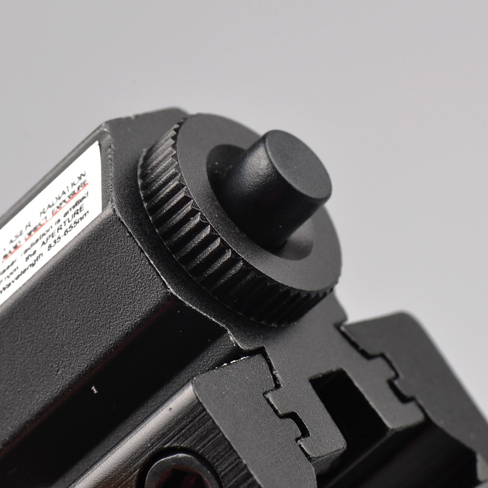 Piros lézerlövő Picatinny-hez és puska 635-655nm állítható - Vadászat - Fénykép 4