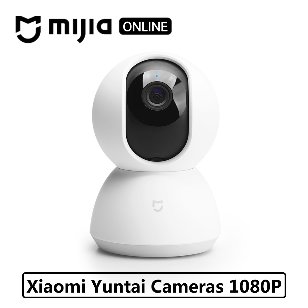Original Xiaomi Mijia Cameras 1080P Smart IP Cam Webcam Camcorder 360 Angle WIFI Wireless Night Vision