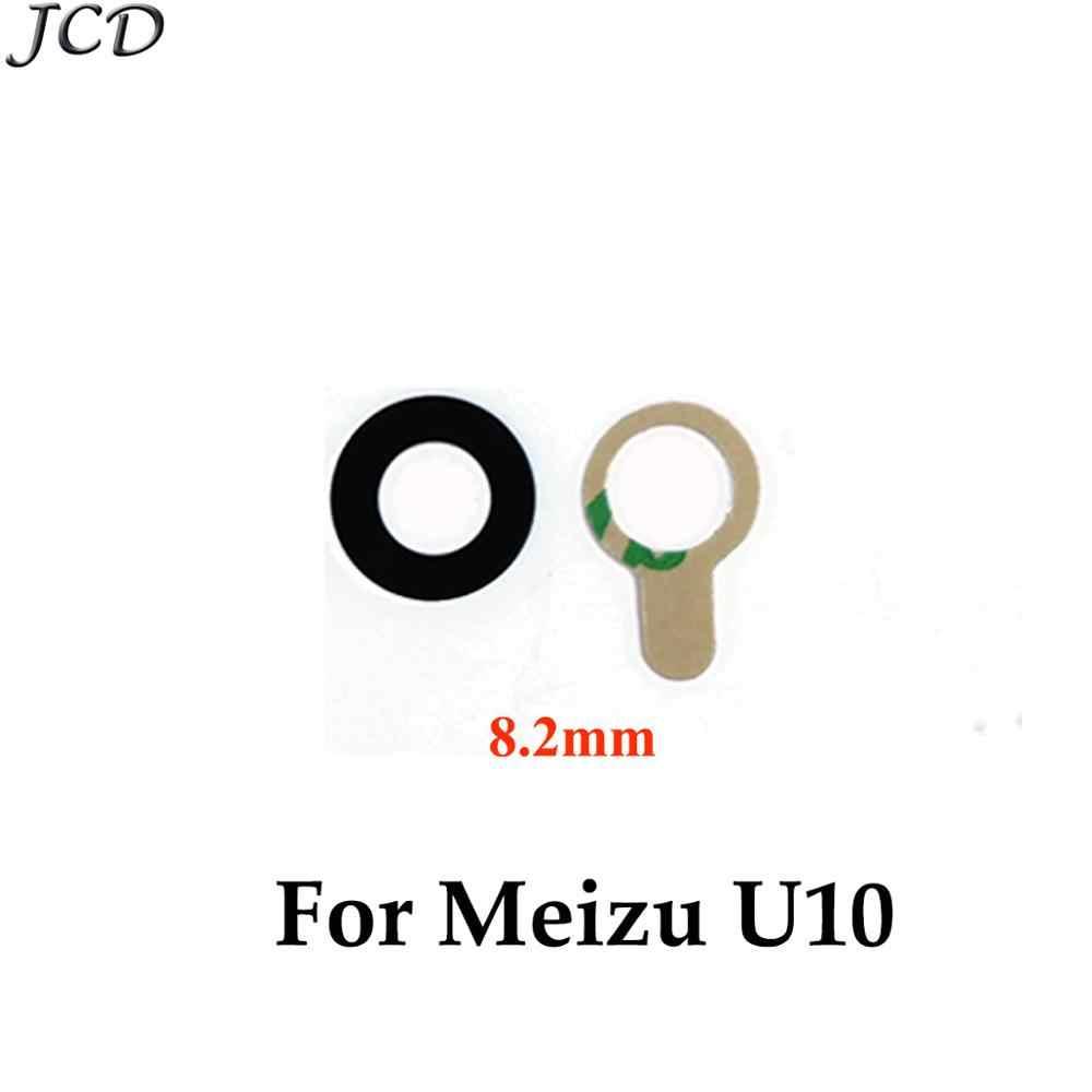 JCD 2 ピース/ロットバックリアカメラガラスレンズ魅 U10 U20 リアカメラレンズハウジング部品交換