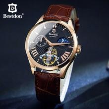 Bestdon New Switzerland Automatic Mechanical Watch For Men Role Elite Brand For Men Watch Skeleton Men